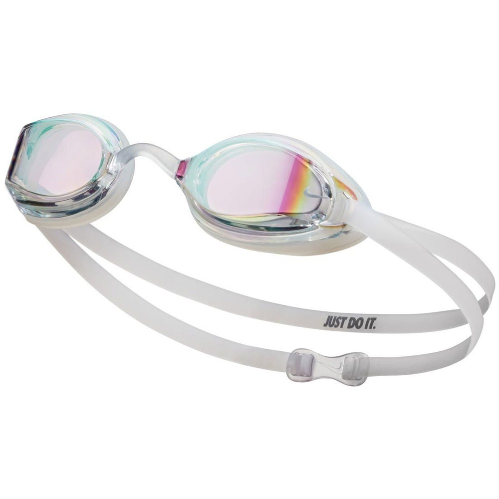 Nike Legacy Goggles With Clear Mirror Lens
