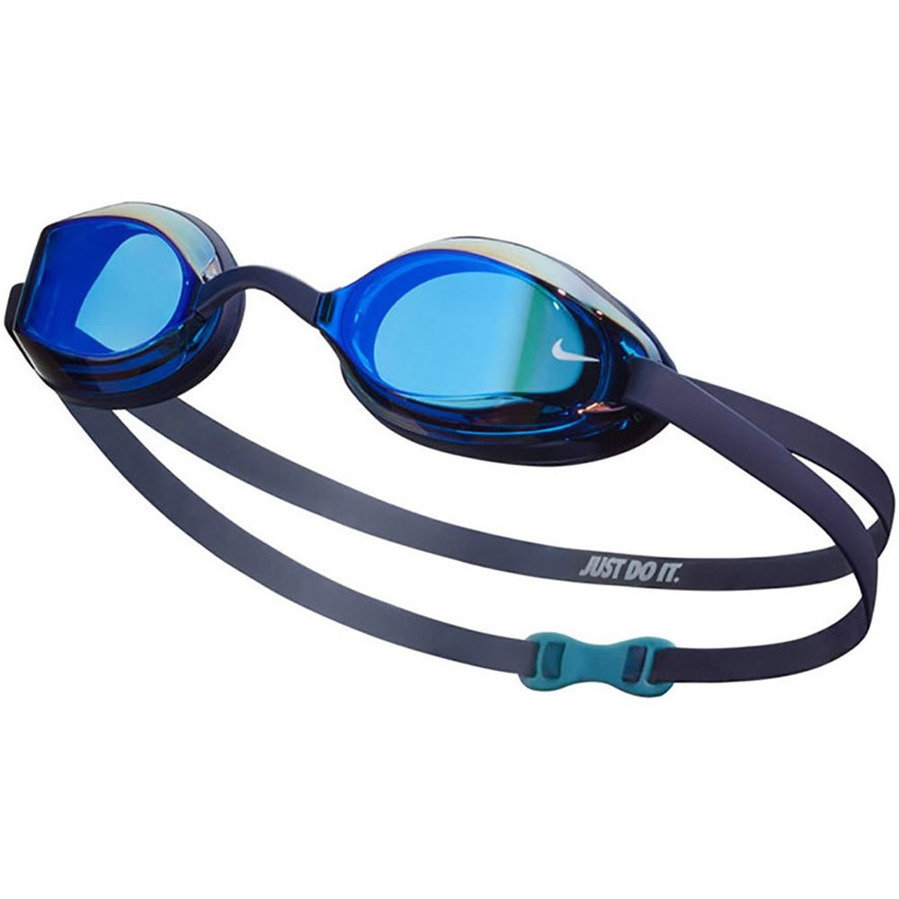 Nike Legacy Goggles With Midnight Navy Mirror Lens