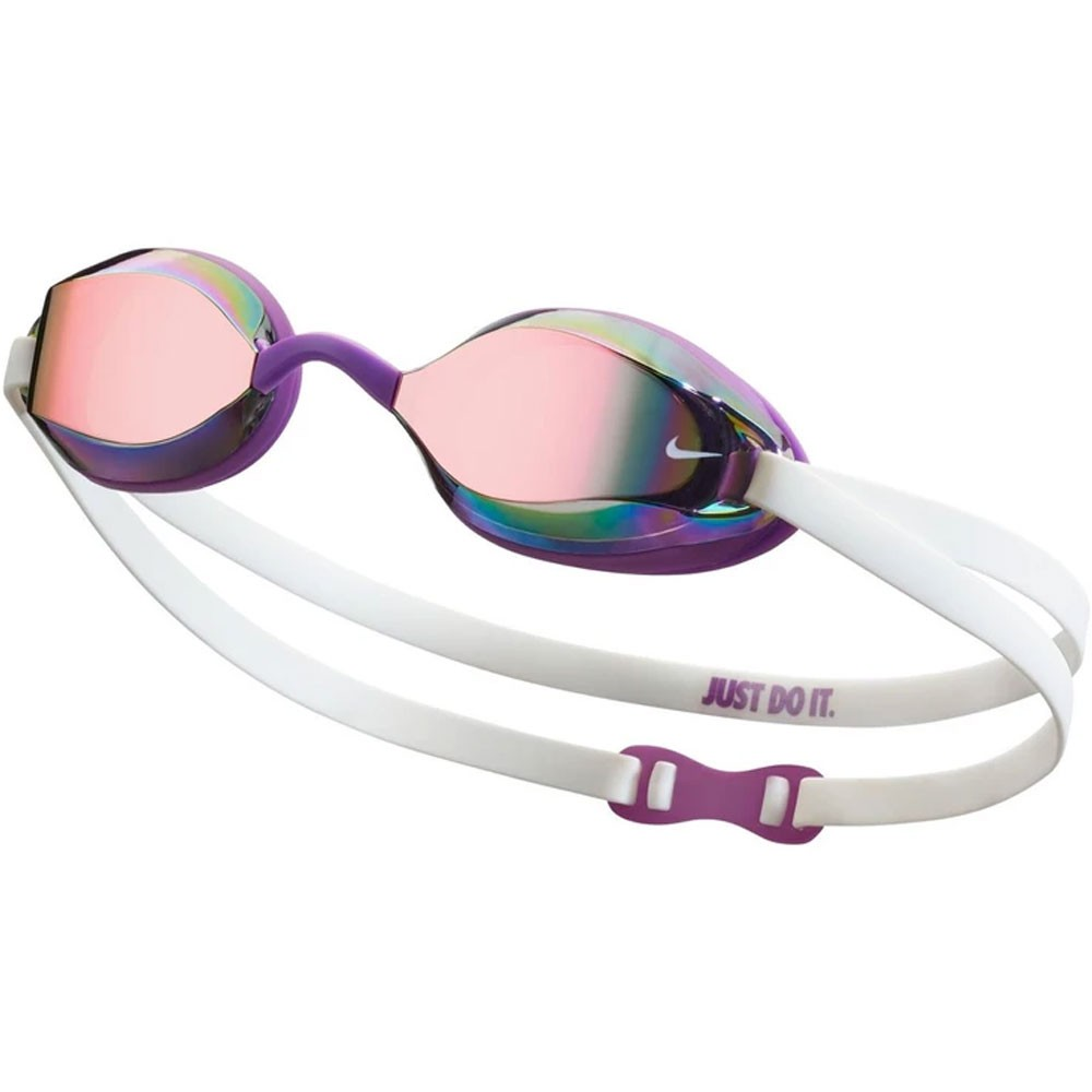 Nike Legacy Goggles With Multicolour Mirror Lens