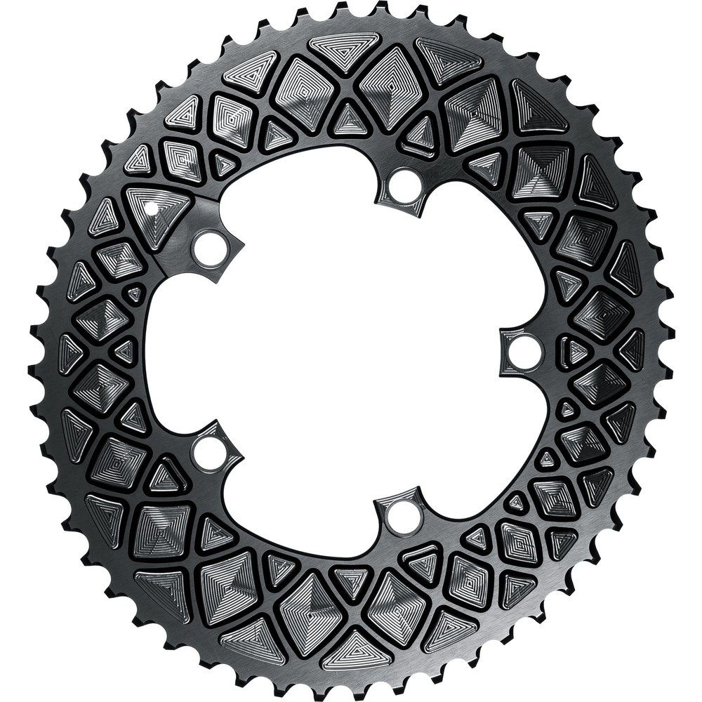 AbsoluteBLACK Oval 110BCD 4/5 Hole FSA Outer Chainring