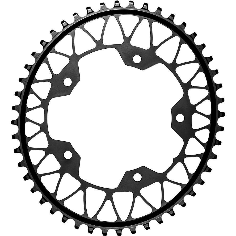AbsoluteBLACK Oval 110BCD 5 Hole 48T 1x Chainring