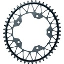AbsoluteBLACK Oval 110BCD 5 Hole 44T 1x Chainring