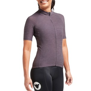 Black Sheep Cycling Adventure Merino Womens Short Sleeve Jersey