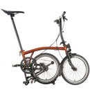Brompton Black Edition S6L Folding Bike With Lacquer Finish