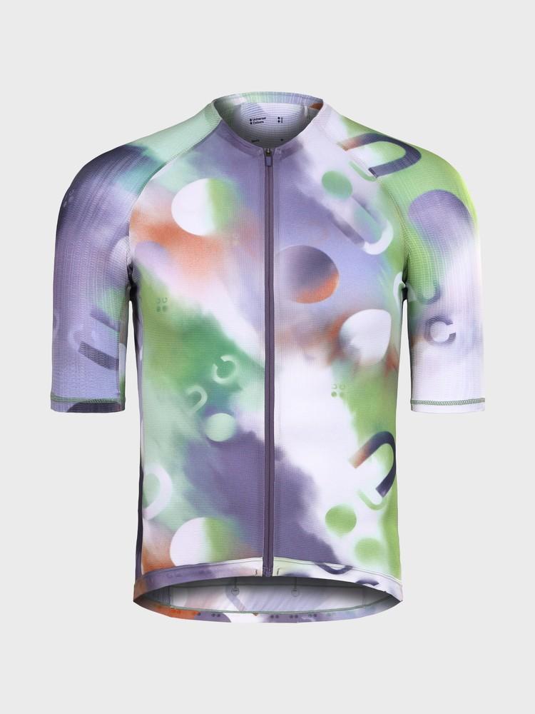 Spectrum Light Men's Short Sleeve Jersey White/Multicolour