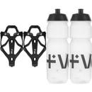 Vel RL Carbon Bottle Cages & 750ml Bottles Bundle