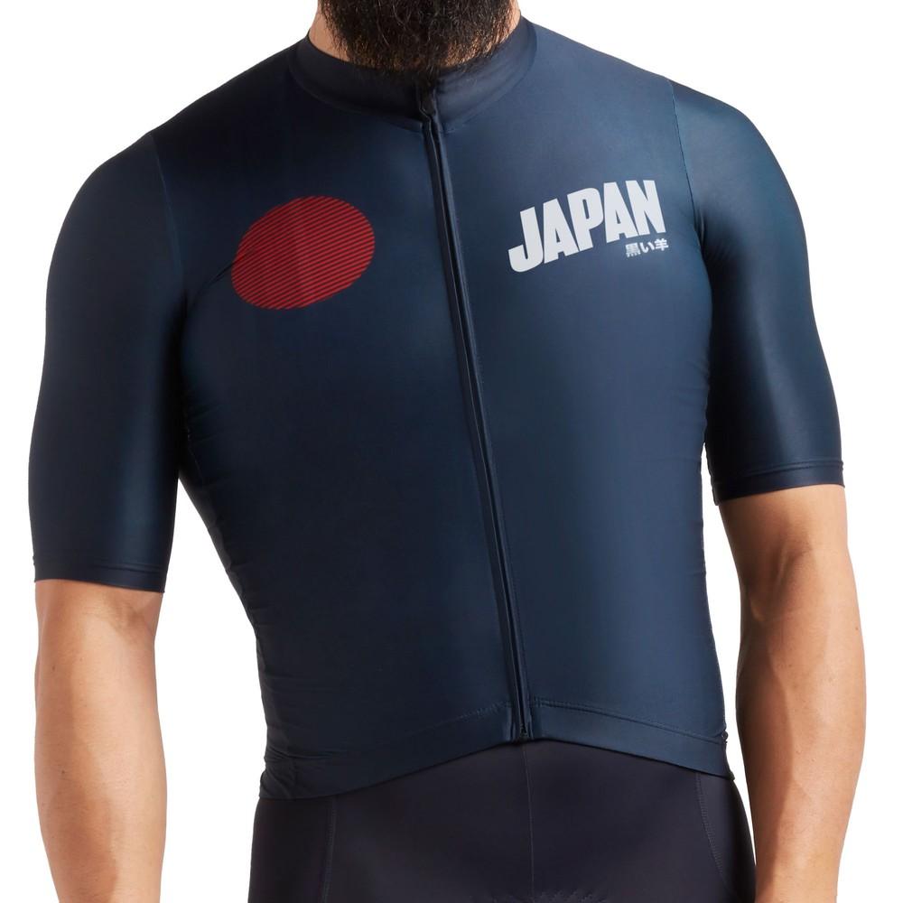 Black Sheep Cycling Essentials Japan Team Short Sleeve Jersey