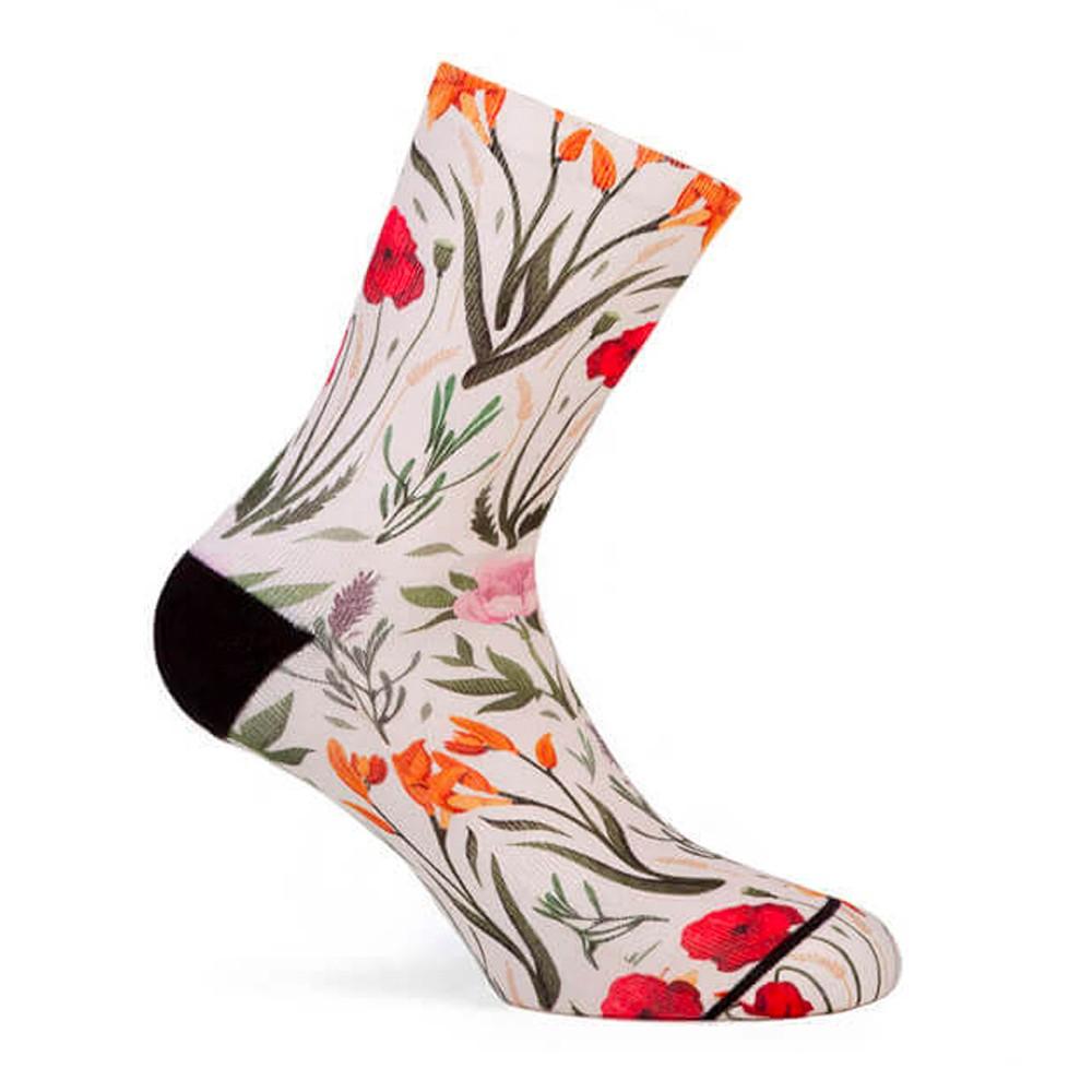 Pacific & Co. Blossom Womens Cycling Socks