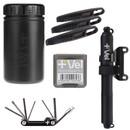 Vel MTB/Gravel Storage Can And HV-Flow Mini Pump Starter Kit