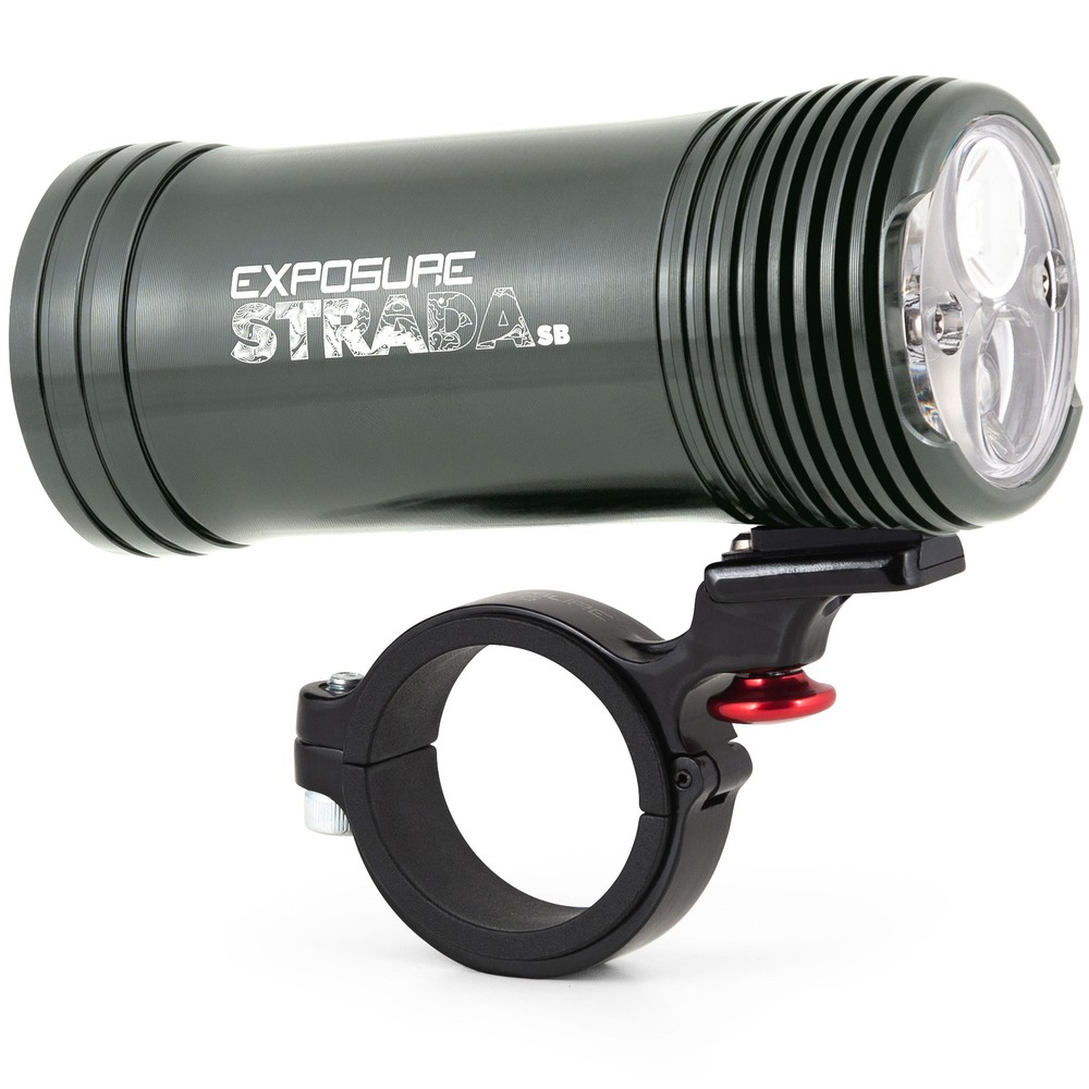Exposure Lights Strada Mk10 Super Bright Front Light With DayBright