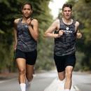 SAYSKY Camo Combat Womens Running Singlet