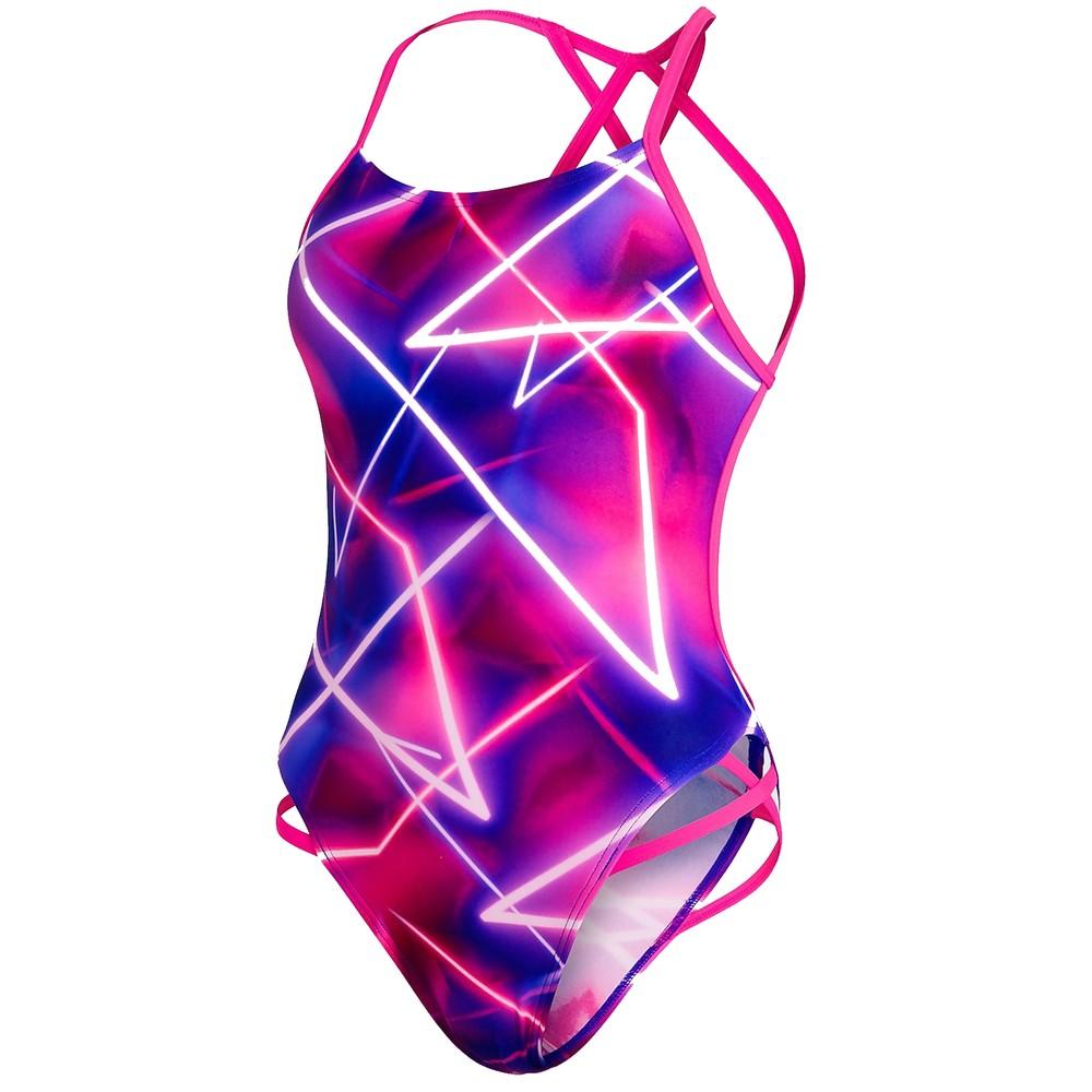 Speedo Allover Freestyler One Piece Womens Swimsuit