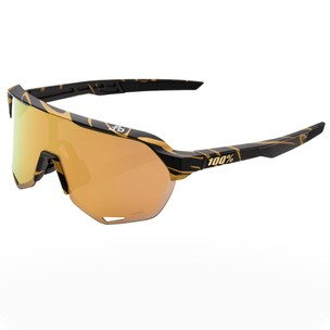 100% S2 Sagan Limited Edition Sunglasses With HiPER Gold Mirror Lens