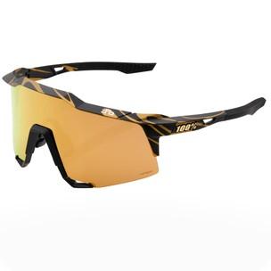 100% Speedcraft Sagan Sunglasses With HiPER Gold Mirror Lens