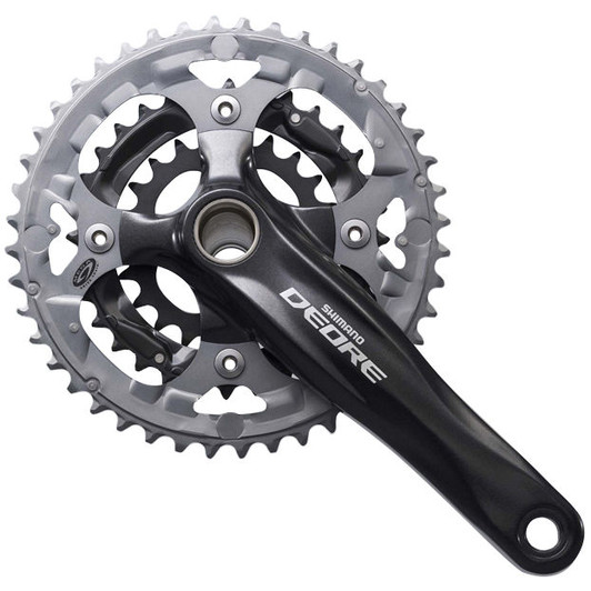 Shimano M590 Triple Chainset W/BB 48/36/26