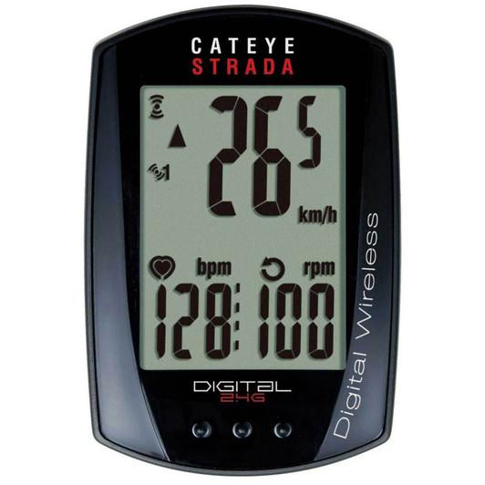 Cateye Strada Digital Wireless Speed/ Heart Rate Computer