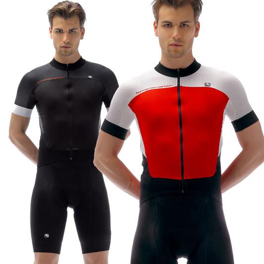 2294d67cb60b Giordana Body Clone Forma Red Short Sleeve Jersey