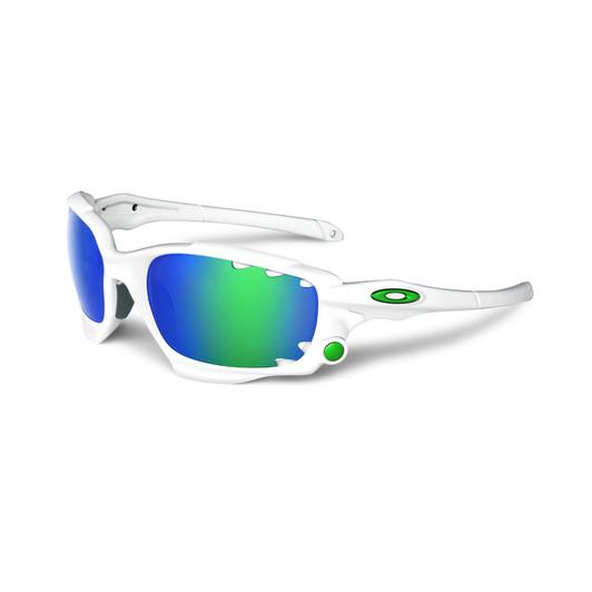 44e87e9935f Oakley Racing Jacket Sunglasses Matt White Frame