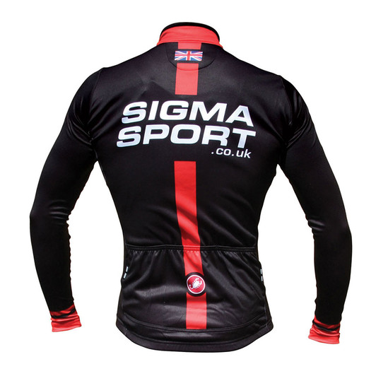 Sigma Sports Thermal Long Sleeve Jersey By Castelli