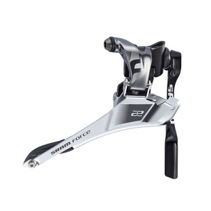 SRAM Force 22 Front Derailleur Yaw Braze On With Chain Spotter