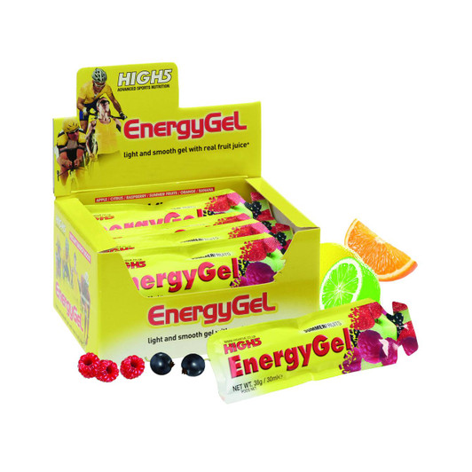 High5 Energy Gels Box Of 20 X 38g Assorted Flavours