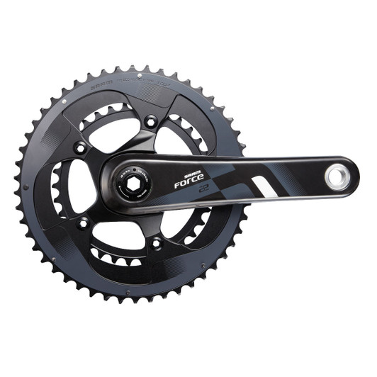 SRAM Force 22 Crank Set BB30 (Bearings Not Included)