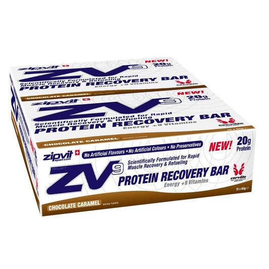 ZipVit Sport ZV9 Protein Recovery Energy Bar 15 X 65g Box