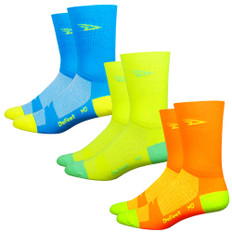 DeFeet Aireator D-Logo Tall Hi-Vis Socks