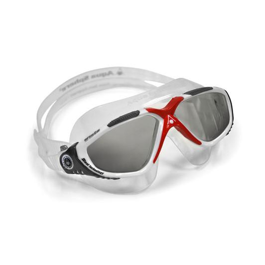 Aqua Sphere Vista Goggle Smoke Lens - Red/White
