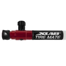 XLab Tyre Mate Pump & CO2 Inflator Red