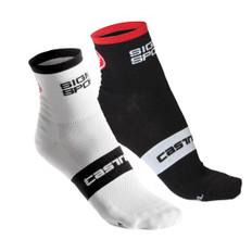 Sigma Sport Rosso Corsa 9 Socks by Castelli