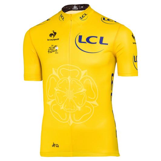 Le Coq Sportif Tour De France Official Jersey 2014 - Yellow ... a568fd0c7
