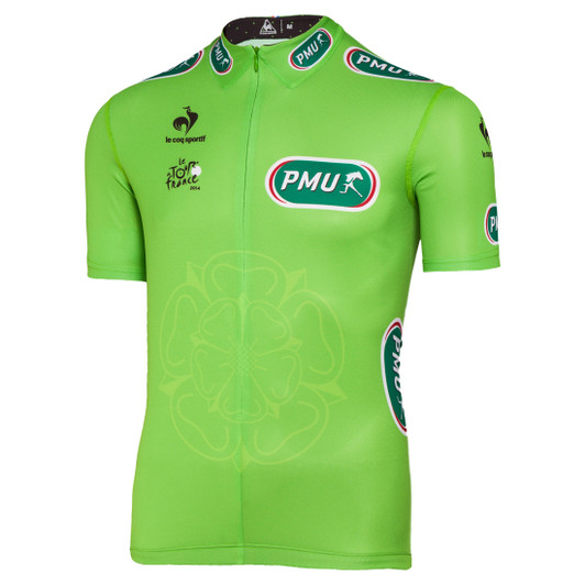Le Coq Sportif Tour De France Official Jersey 2014 - Green ... 4087df392