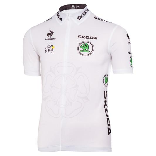 Le Coq Sportif Tour De France Official Jersey 2014 - White ... f250203e3