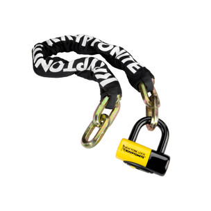 Kryptonite New York Fahgettaboudit Chain With NY Disc U-Lock 100cm