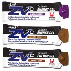 ZipVit Sport ZV7C Caffeinated Energy Gel 60ml