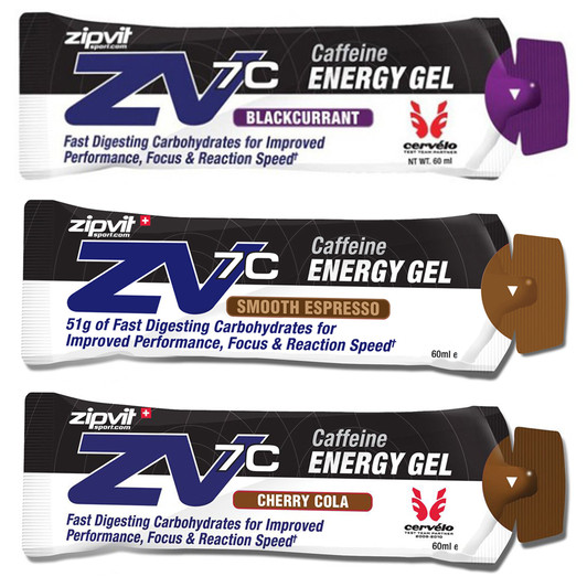 ZipVit Sport ZV7C Caffeinated Energy Gel 60ml
