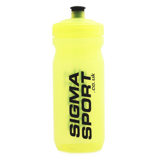 Sigma Sport Team Fluoro Yellow MAX Water Bottle 600ml