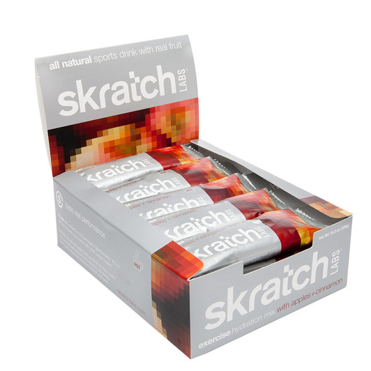 Skratch Labs Exercise Hydration Mix 24g Box Of 20 Single Servings