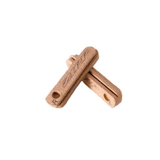 Zipp Tangente Cork Composite Brake Pad Inserts For Carbon Rim (1 Pair)