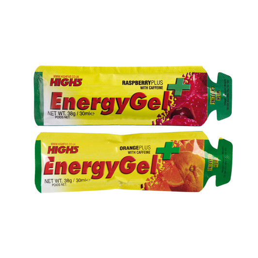 High5 EnergyGel Plus With Caffeine 38g