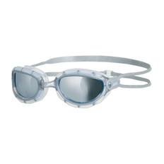 Zoggs Predator Mirror Goggles Silver/Clear