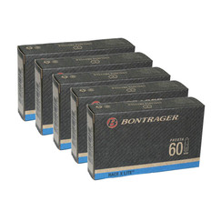 Bontrager Race X Lite Inner Tube 700 x 18-25 Presta 60mm Pack of 5