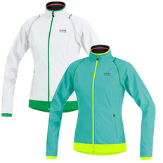 Gore Bike Wear E Windstopper Active Shell Zip-Off Womens Jacket