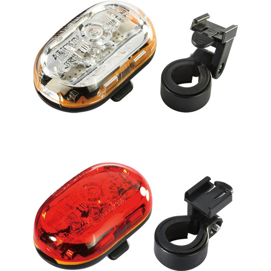 Infini Vista 1 LED Front And 5 LED Rear Light Set