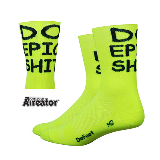 DeFeet Aireator Tall Do Epic Sh! Socks