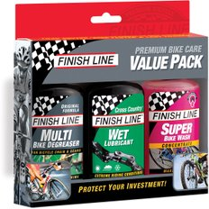 Finish Line Bike Care Wet Weather Value Pack