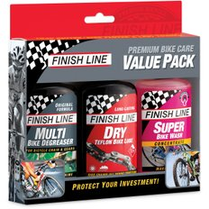 Finish Line Premium Bike Care Summer Value Pack