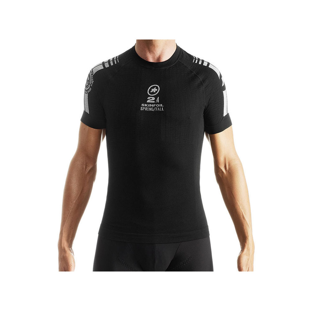 Assos SS SkinFoil Spring/Fall Short Sleeve S7 Base Layer