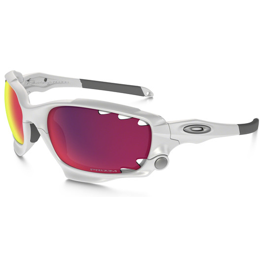 Oakley Racing Jacket Glasses Matt White with PRIZM Road Lens   Sigma ... 2c928af9e49e